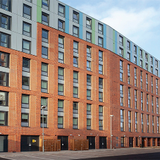 Glazing solution for new-build student accommodation