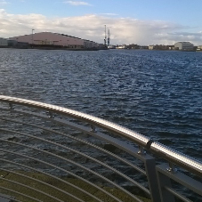 ASF Bespoke and Stainless Steel Railings for Quayside in Birkenhead