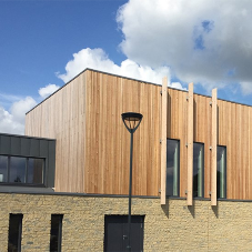 Timber doorsets for new Silverstone CE Primary School