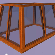 HS Joinery produces illustration hardwood roof lantern