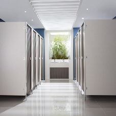 Cubicle Centre is leading the way in washroom specification