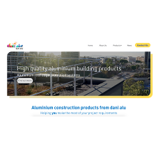 Dani Aluminium UK LTD launches fresh new website