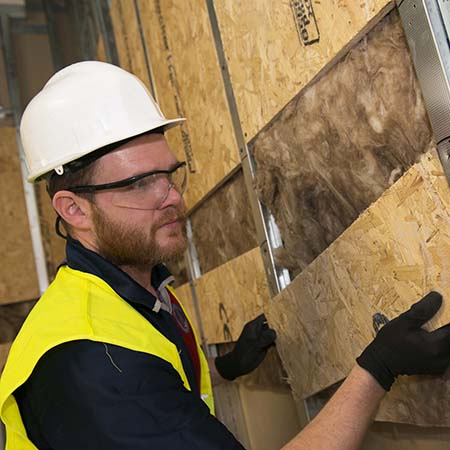 MEDITE SMARTPLY launch time saving new Pattress Panel for dryliners