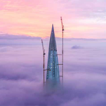 Trosifol™ helps Europe's tallest building stand majestically
