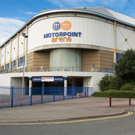 Bespoke urinals for Motorpoint Arena in Sheffield