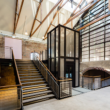 M&G's stunning staircases at JTP's London Studio