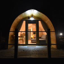Veka helped M&M Windows with an install for a glamping pod supplier