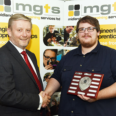 Amtico apprentice wins 'Manufacturing Apprentice of the Year'