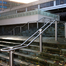 ASF supply stylish handrails for Bradford Library