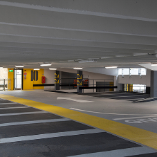 EFAFLEX's high-speed doors involved in multi award-winning car park refurb