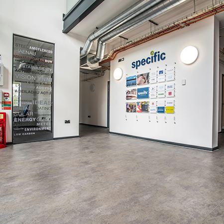 Polyflor feature in UK's First Energy Positive Building