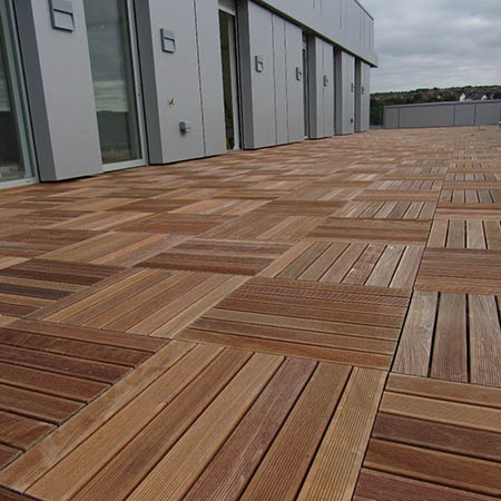 Timber Tiles for retrofit roof project in Brighton