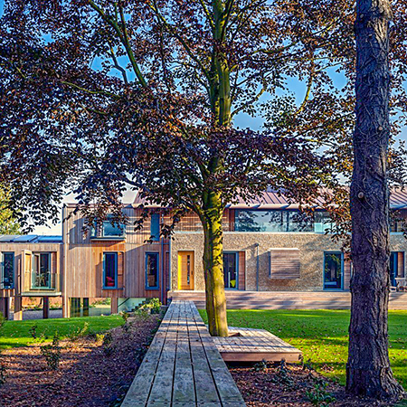 Stunning FSC Ipe Timber for Arboretum House