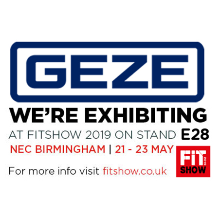 GEZE UK showcase products at the FIT Show