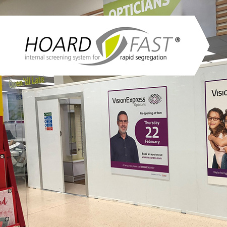 Westgate's Hoardfast chosen for Vision Express concession roll outs