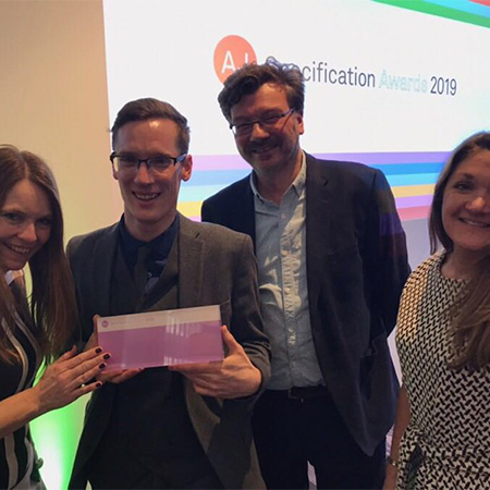 Amtico wins inaugural AJ Specification Award for Flooring