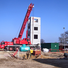 Milbank specified for £1.5m Fire Drill Towers contract by Kier Construction