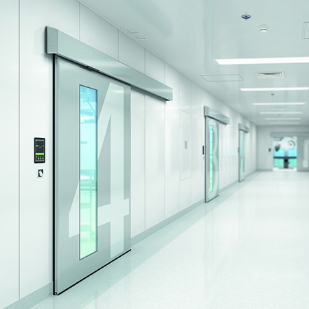 Air-tight door automation from TORMAX