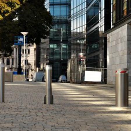 Automatic Security Bollards keep university students safe