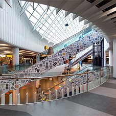 Amtico add colour to the Biocca Shopping Centre