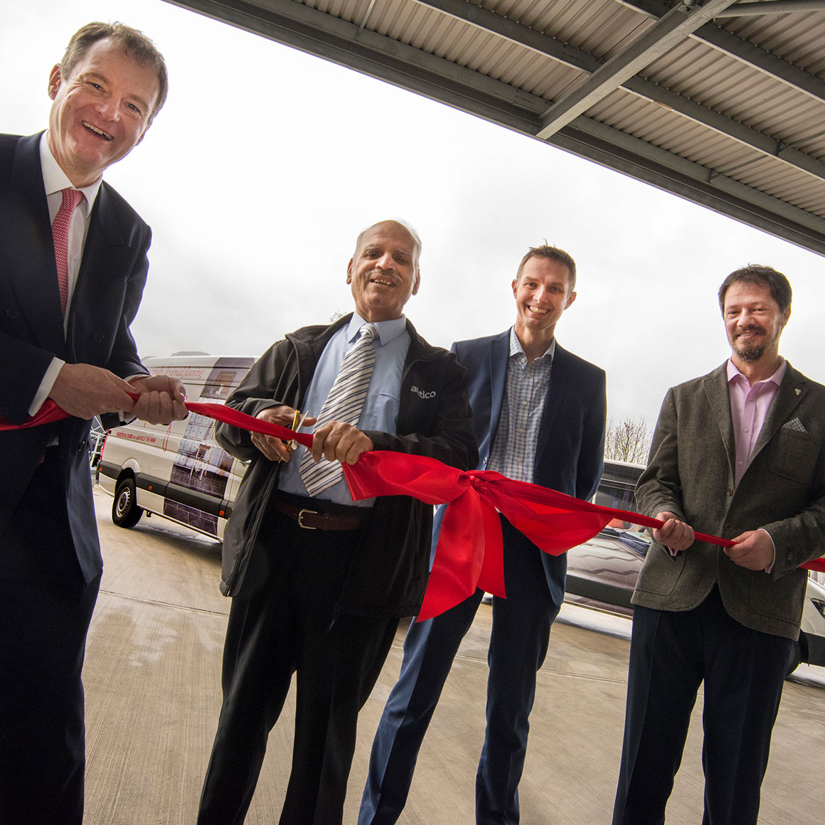 Amtico officially open Pilot Park showpiece facility