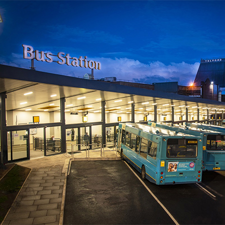 GEZE solution is just the ticket for Telford Bus Station
