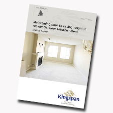 Kingspan releases solid floor refurbishment research