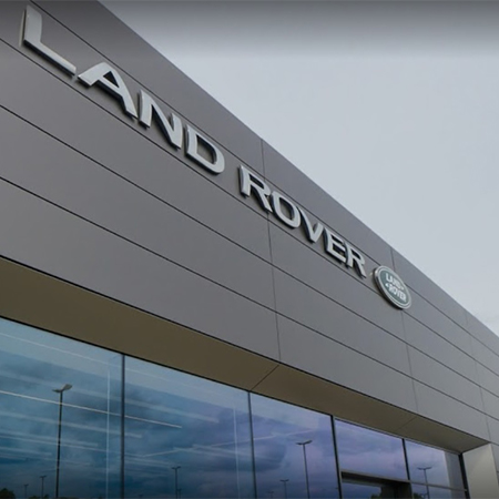 MEARIN the perfect choice for prestigious new Jaguar Land Rover dealership