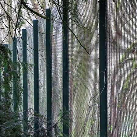 CLD fencing and gates for The Futuristic Forest