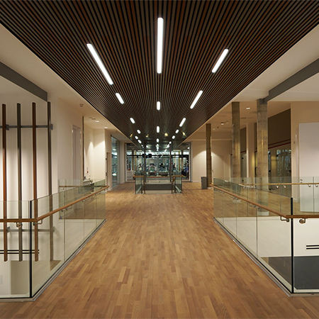 Junckers flooring for pharmaceutical HQ