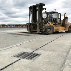Hauraton high capacity drainage systems installed at Port Sunderland