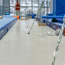 High-Tech Polish Gym Installs Flowcrete Flooring