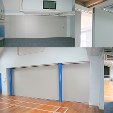 Victory for Beehive Folding Partitions!