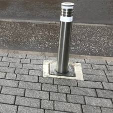 Residential bollards improve vehicle control at Glasgow apartments