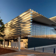 Natural ventilation for Netball Central in Sydney Olympic Park
