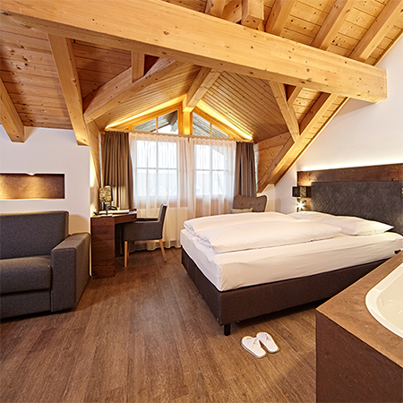 Stylish acoustic wooden flooring for hotel in Germany