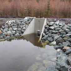 New headwalls and penstocks for Welsh reservoir