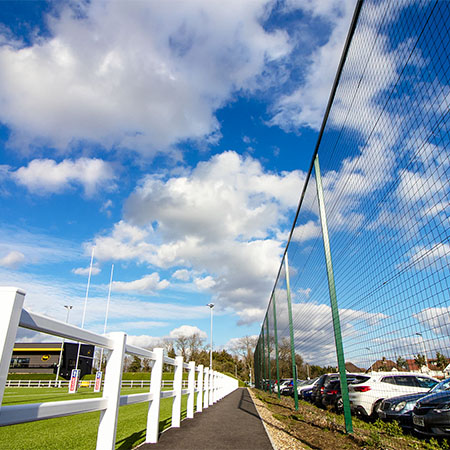 CLD Fencing Systems protect Grasshoppers Rugby Club