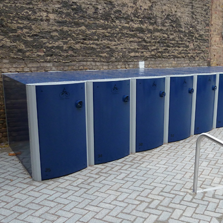 Velo-Safe lockers for Royal London Hospital