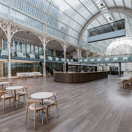 Beautiful solid hardwood flooring brings warmth The Royal Opera House