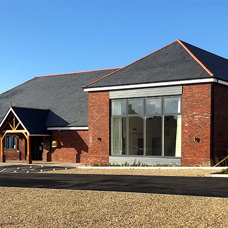 Slate roofs show endurance at new village hall