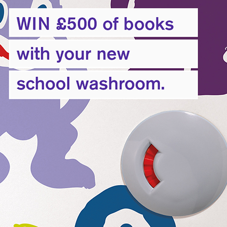 Want to win a £500 book voucher for your school library?