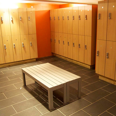 Robust MFC lockers for Urban Fitness Henley