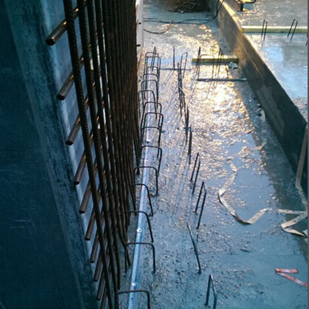 Expanding waterstop with XP technology for concrete construction joints