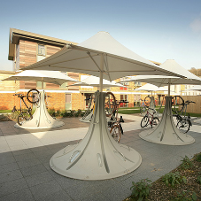 Cyclepods provide bicycle parking for Brighton and Sussex Uni