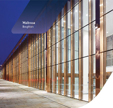 Vibrant and distinctive Waitrose superstore made possible by FGS VS-1