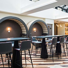 LVT flooring for bold and quirky Shoreditch hotel