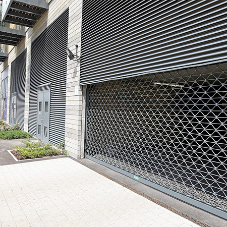 Car Park Roller Grilles in Victory Pier Development
