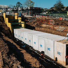 FP McCann's Box Culverts specified on Exmouth Housing Development