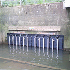 Bespoke flap valves for The Environment Agency